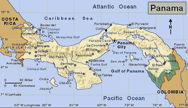Country Of Panama - Where is panama
